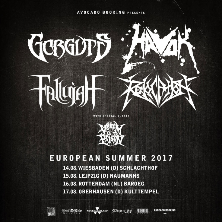 Gorguts Tour