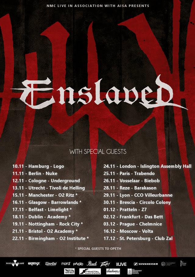 Enslaved Tour 2017
