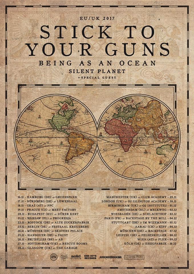 Silent Planet Tour 2017