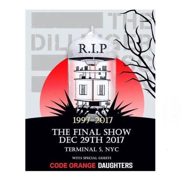 The Dillinger Escape Plan Final Show