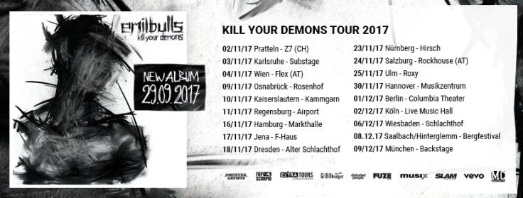 Emil Bulls Tour 2017