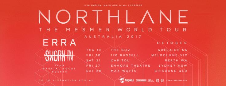 Northlane Australan Tour 2017