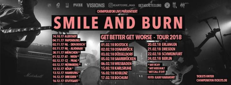Smile And Burn Tour 2017-2018