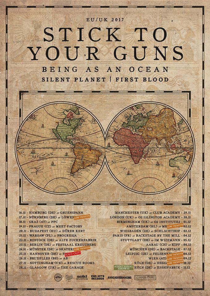 Stick To Your Guns 2017