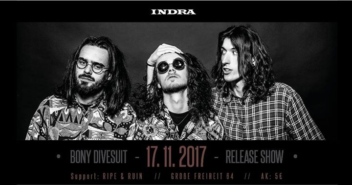 Bony Divesuit Release Konzert