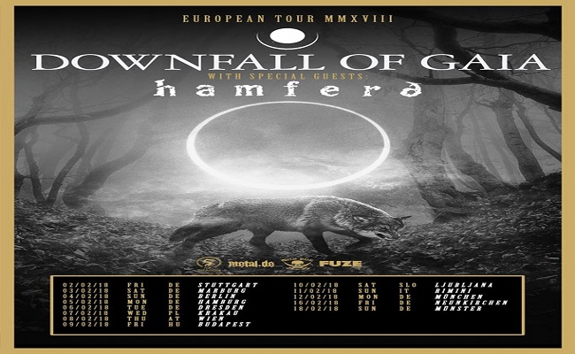 Downfall of Gaia Tour