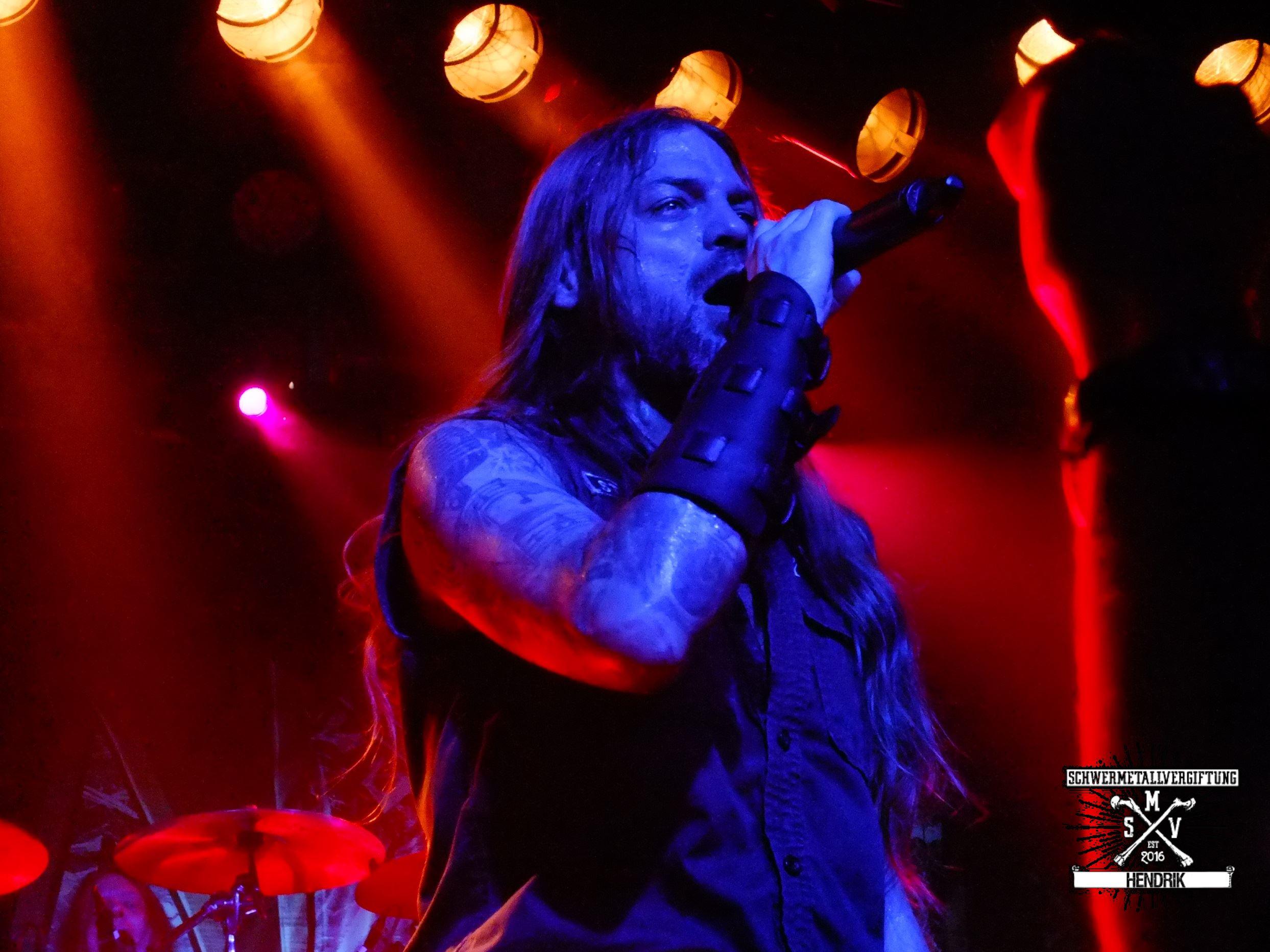 Iced Earth Tour  Deutschland