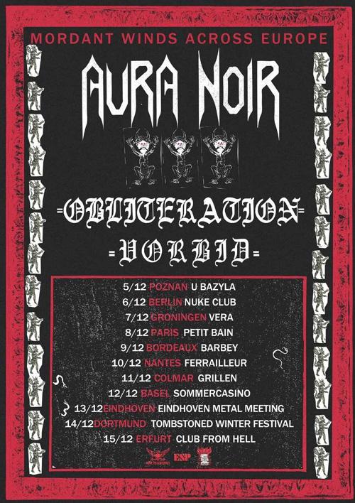 OBLITERATION_Tour