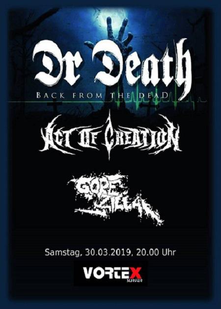 Dr. Death Flyer