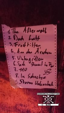 Setlist Strom Unleashed