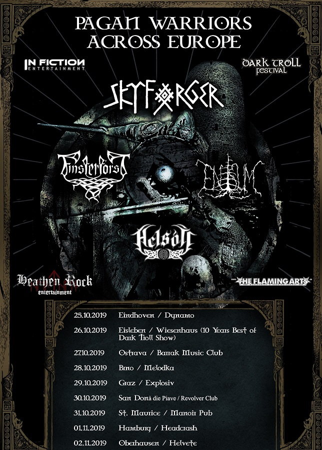 Pagan Warriors Across Europe Tourflyer